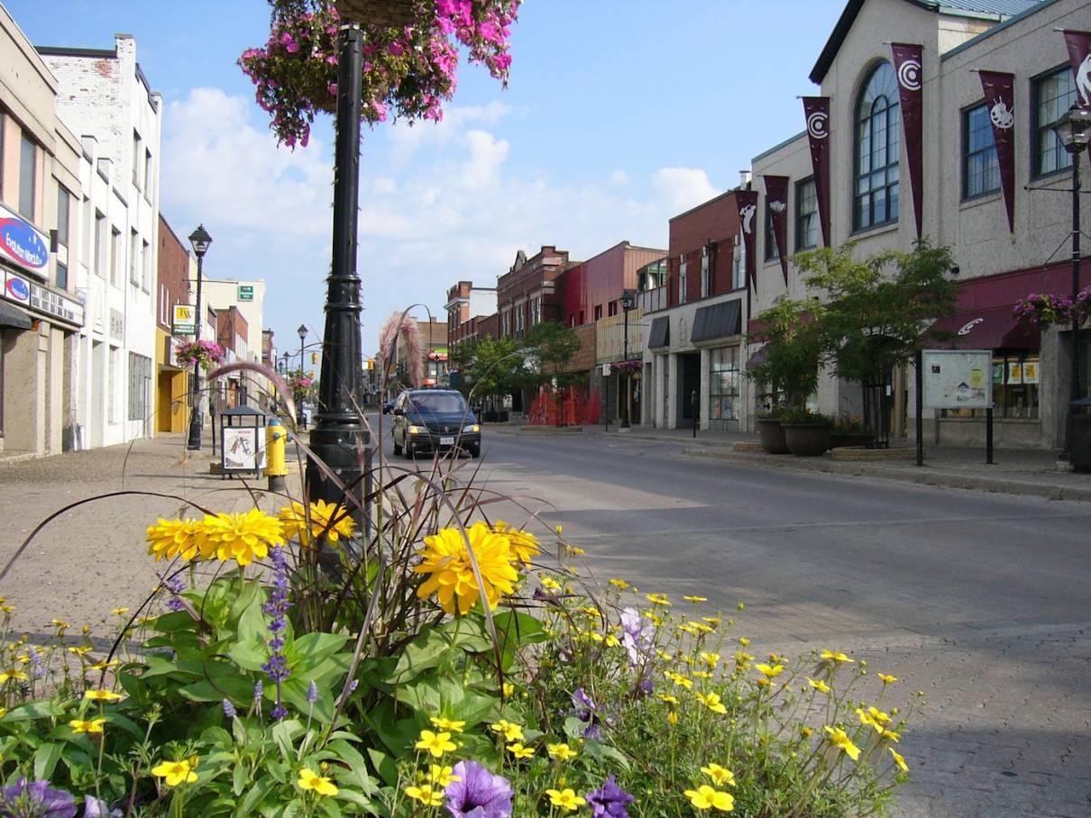 Downtown North Bay Ontario