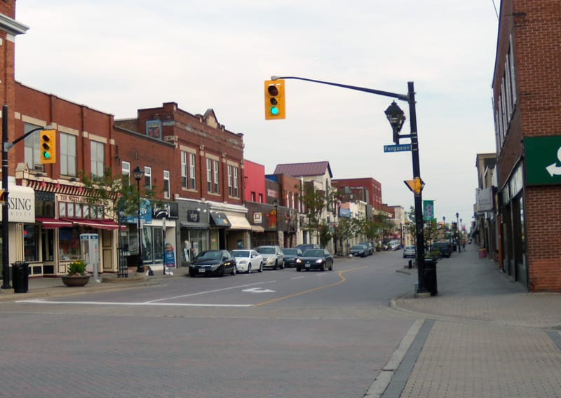 store fronts North Bay Ontario